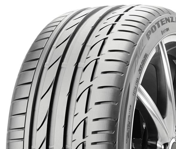 Bridgestone Potenza S001 205/50 R17 89 W * RFT-dojezdová FR Letní