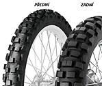 Dunlop D606 130/90 -17 68 R TT Zadní Terénní