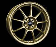 OZ ALLEGGERITA HLT 5F RG 8x18 5x130 ET50 Zlatý lak