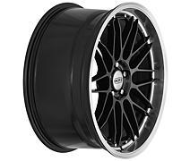 Dotz Revvo dark 8,5x20 5x120 ET30 Leštěný límec / Metalický šedý lak