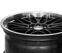 Dotz Revvo dark 8x18 5x114,3 ET34 Leštěný límec / Metalický šedý lak