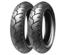 Michelin S1 100/80 -10 53 L TL/TT Přední/Zadní Skútr