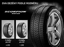 Pirelli SCORPION WINTER 235/50 R19 103 H XL Seal Inside Zimní