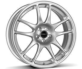 Borbet RS (BS) 7x17 4x108 ET27 Stříbrný lak