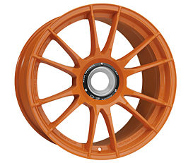 OZ ULTRALEGGERA HLT CL Orange 8,5x19 15x130 ET53 Oranžový lak